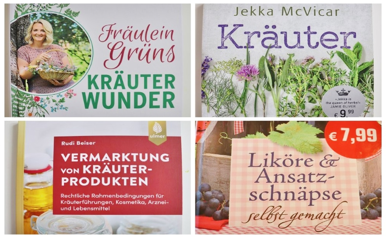 Buchvorstellungen Kräuter und Heilpflanzen