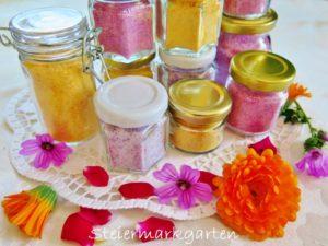 Blütenzucker – bunte Kompositionen zum Versüßen
