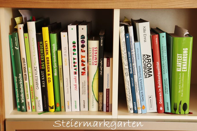 Buchvorstellungen Ernährung, Konservieren, Kochbücher