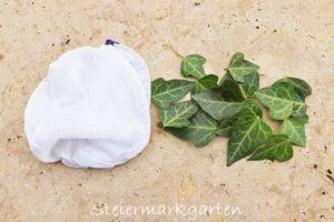 Biologisches Waschmittel: Efeu