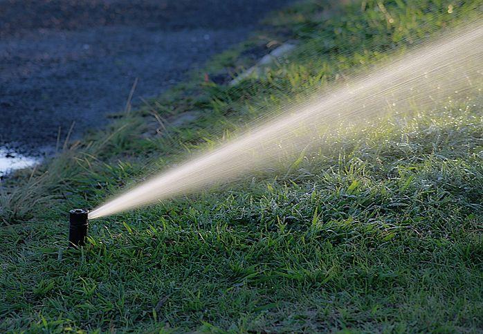 Bewässerung-Rasen