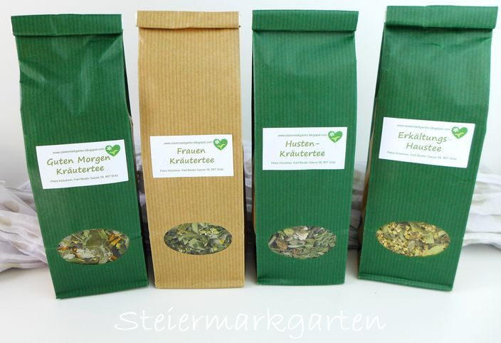 Teepackungen-Lagerung-Steiermarkgarten