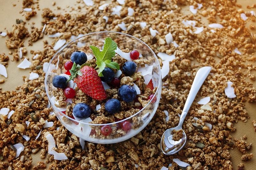 Granola selber machen ohne Zucker