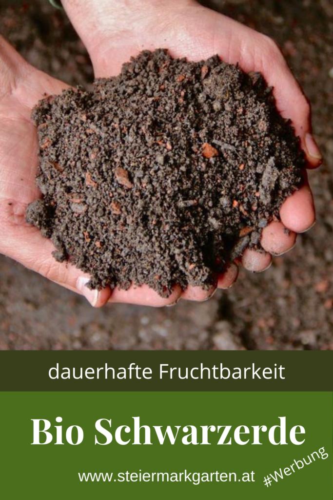 Bio Schwarzerde Sonnenerde Pin Steiermarkgarten