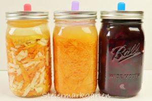 Gemüse fermentieren: meine Top 3 Rezepte
