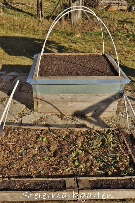 Hochbeet befüllen mit hochwertiger Bio Schwarzerde von Sonnenerde