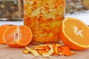 Zero-Waste Orangenreiniger selber machen