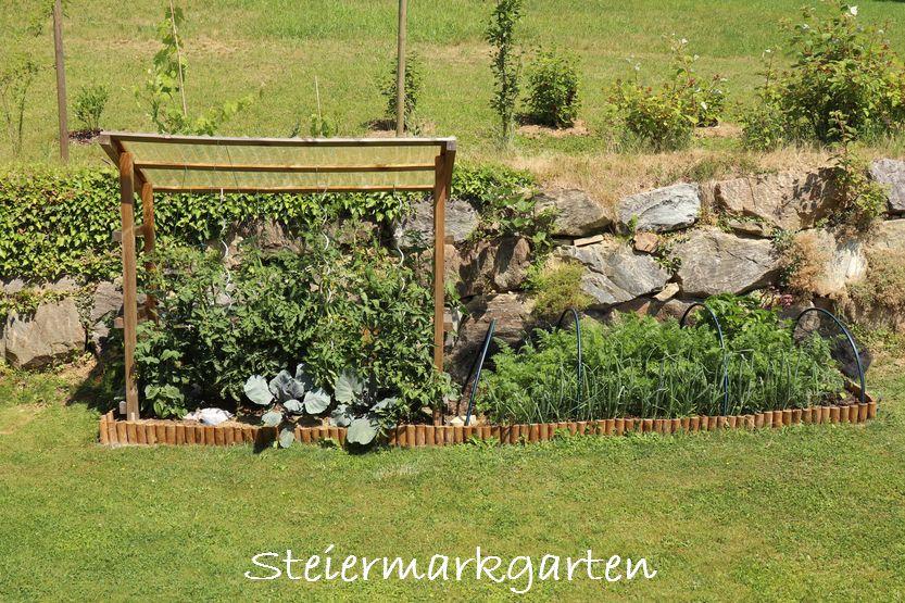 Gemuesebeet-Sommer-Steiermarkgarten